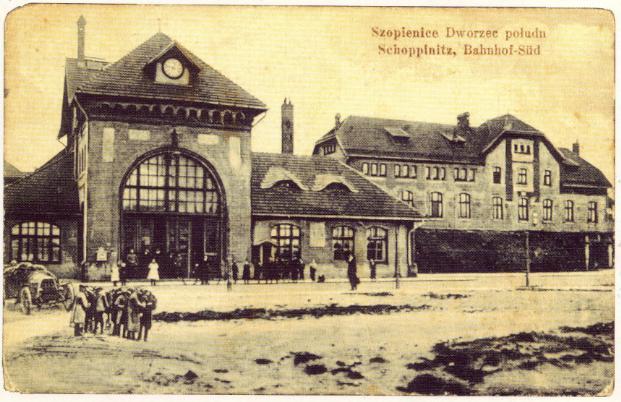 Krótka historia kolei żelaznych w Roździeniu i Szopienicach