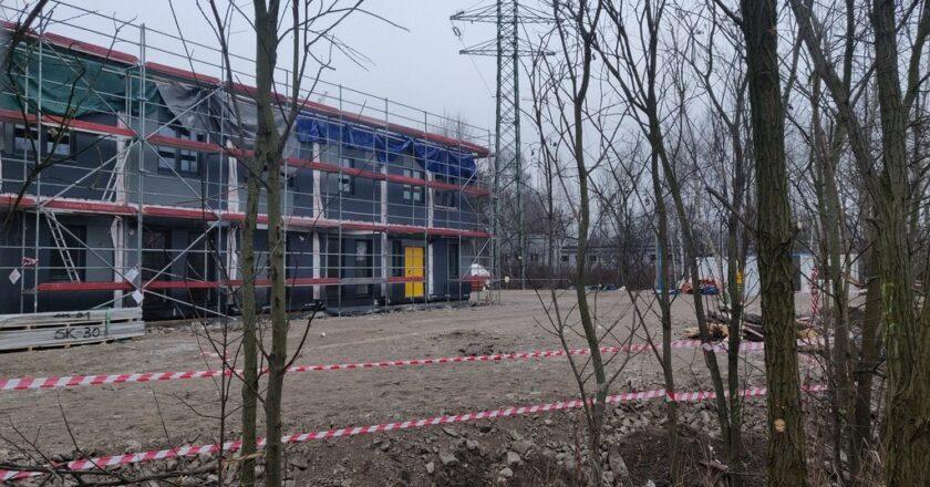 Trwa budowa noclegowni dla bezdomnych w Szopienicach