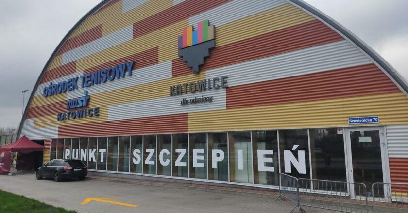 Punkt szczepień powszechnych w Katowicach gotowy do działania