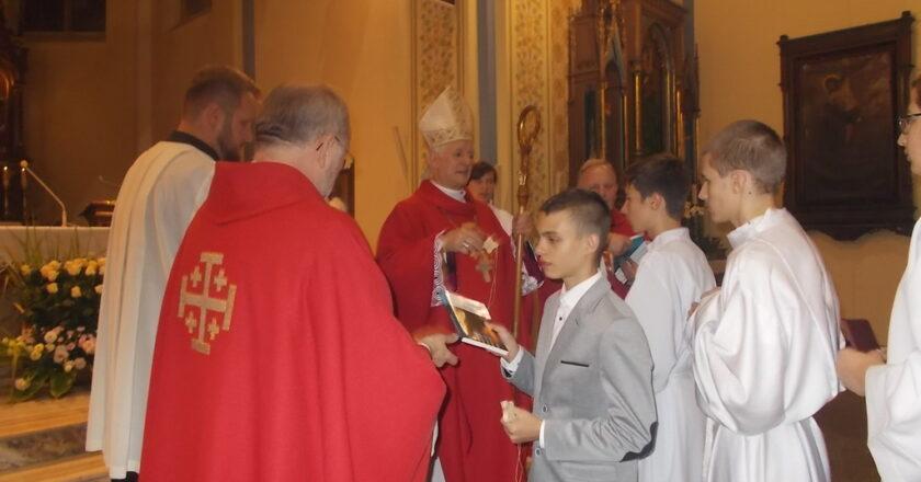 Odwiedziny Księdza Biskupa