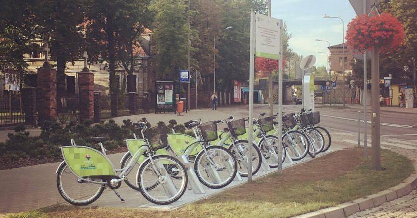 Rowerem po Katowicach