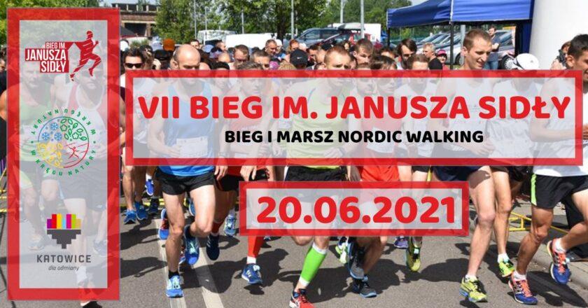 VII edycja Biegu im. Janusza Sidły w Katowicach