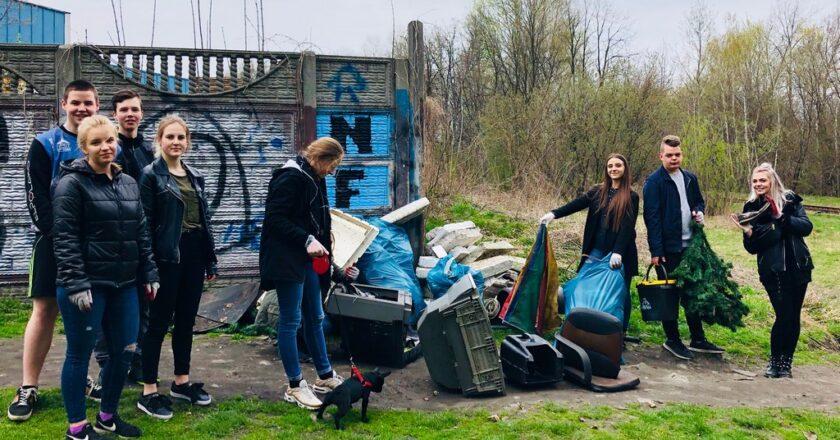 Wspólne sprzątanie Nikiszowca